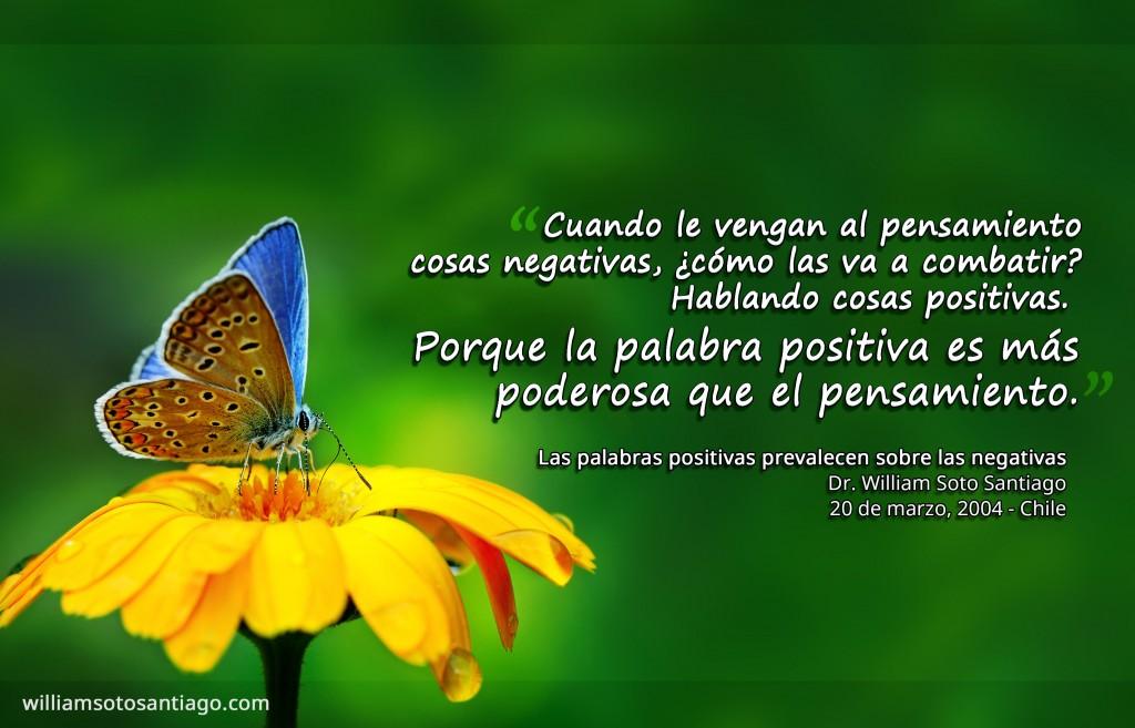 PP-008 - Las palabras positivas prevalecen