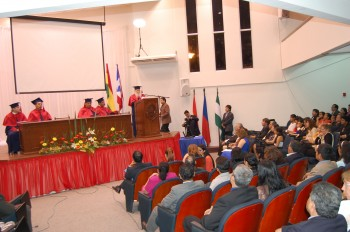 2013jul12 Bolivia UAGRM Honoris Causa 1